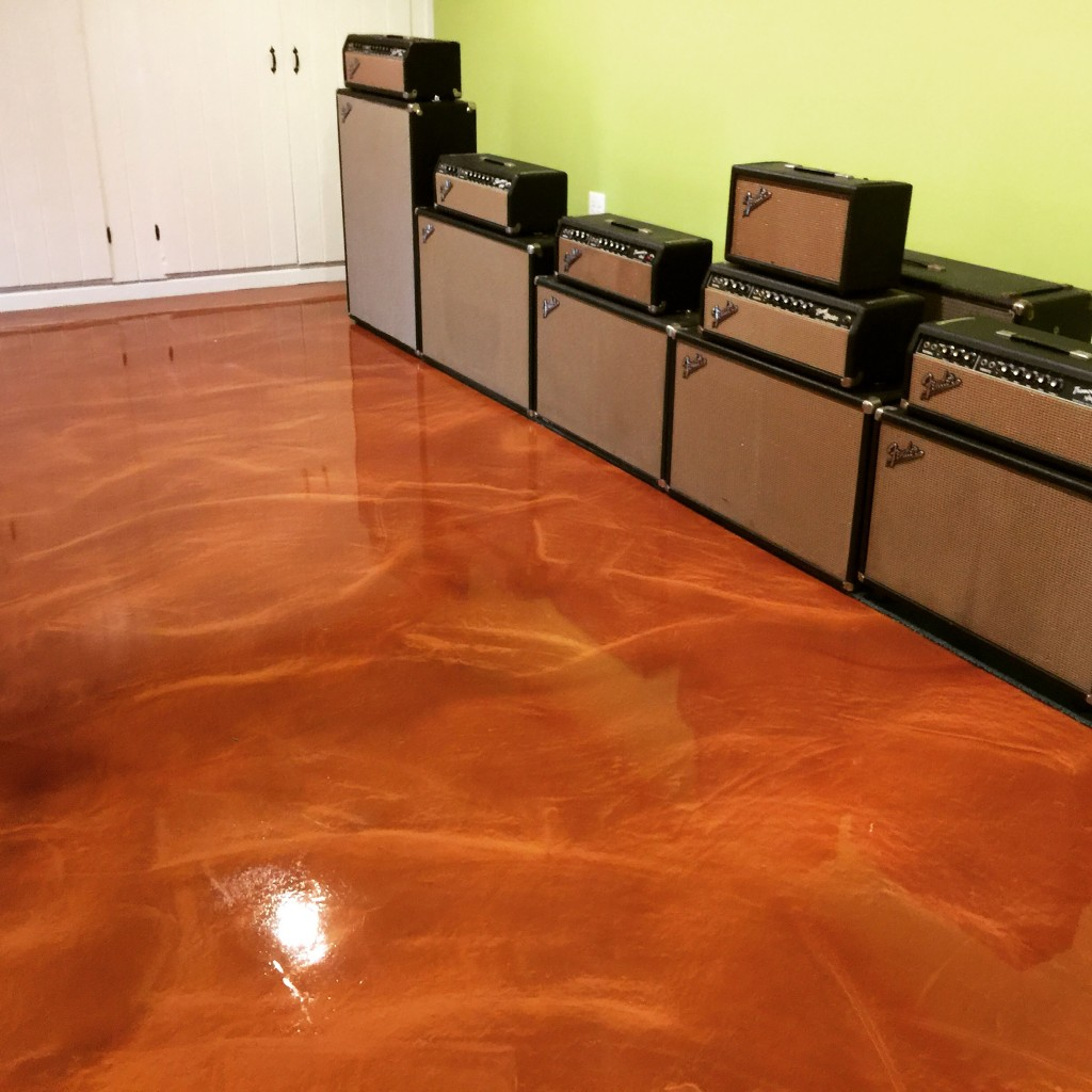 Epoxy metallic flooring systems seal krete high for 1 floor