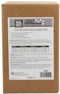 Clear Non-Slip Additive