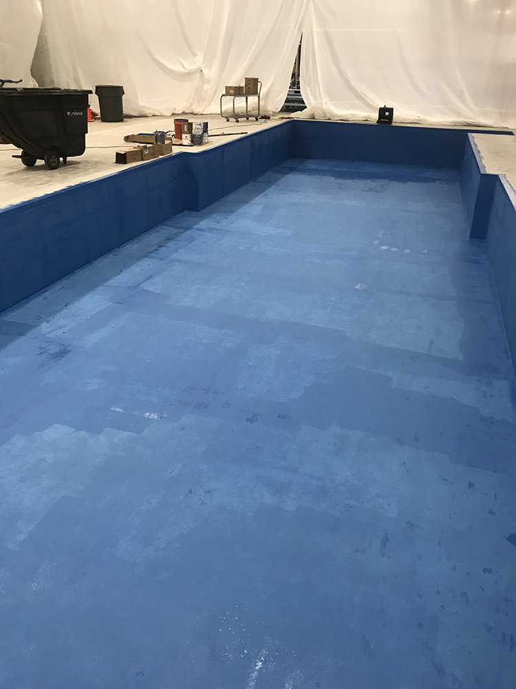 Containment Pit Demands Highly Protective Coatings Seal